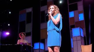 "Andrea Burns sings ""A Little Brains, A Little Talent"" from Damn Yankees on The Broadway Cruise"