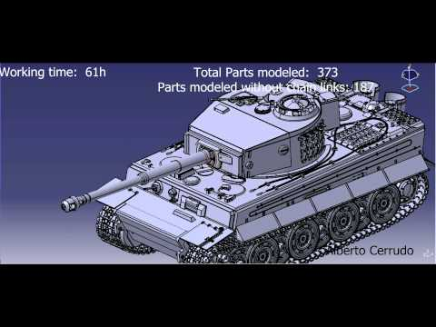 Tiger I with Catia V5
