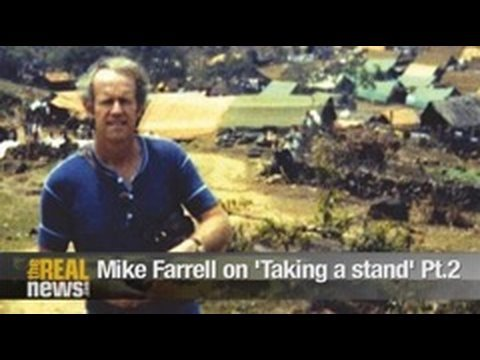 Mike Farrell on taking a stand