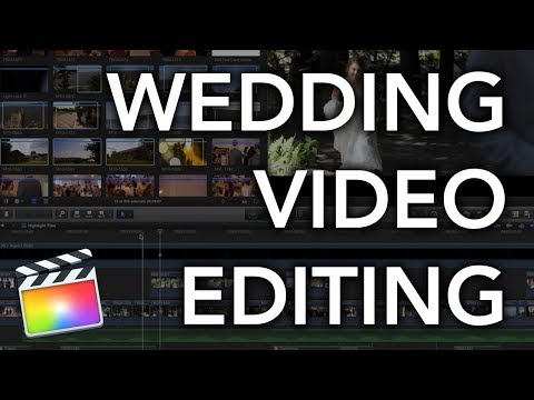 How to Edit a Cinematic Wedding Video in Final Cut Pro X