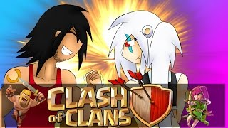 Clash Of Clans | BROTHER vs SISTER!