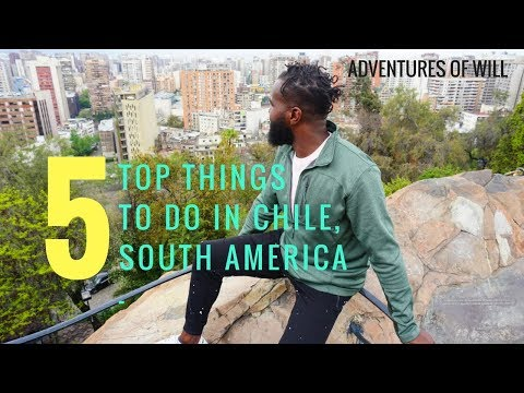 Santiago, Chile South America (Things To Do) -  TRAVEL GUIDE VLOG