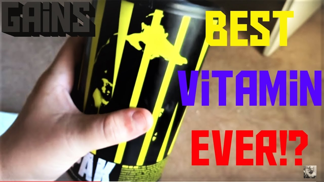 Animal Pak Review (Universal Nutrition) - YouTube