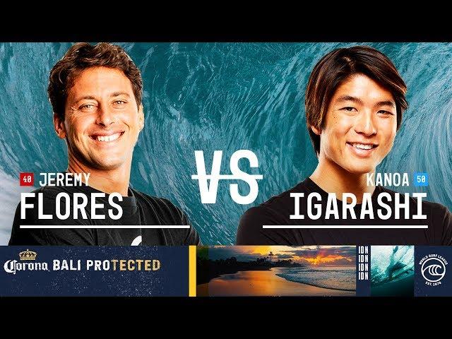 Jeremy Flores vs. Konoa Igarashi - FINAL - Corona Bali Protected 2019