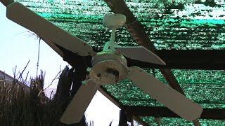 Coolway Ceiling Fan Destruction #1