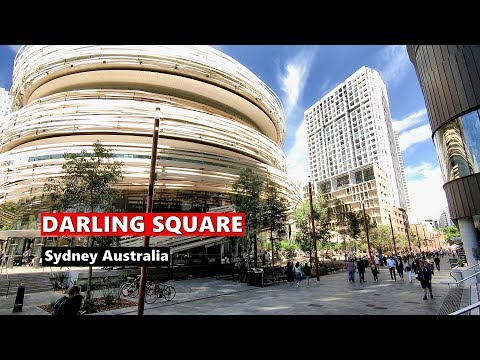 DARLING SQUARE Haymarket SYDNEY WALKING TOUR, Australia
