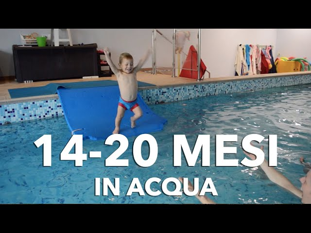 Nuoto Bimbi dai 14 ai 20 mesi || Acquaticità neonatale || Bambini in piscina