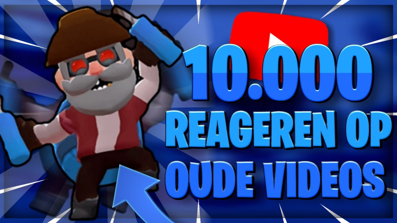 REAGEREN OP OUDE VIDEOS😂 10.000 ABONNEES SPECIAL!!