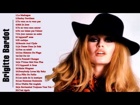 Brigitte Bardot Greatest Hits | Meilleure chanson de Brigitte Bardot 2016