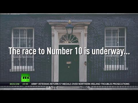 The race to 10 Downing Street is underway