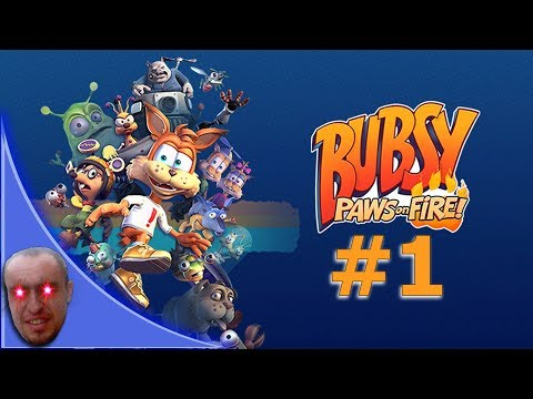Bubsy Paws On Fire - walkthrough - gameplay |