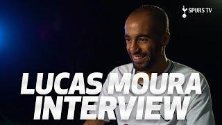 LUCAS MOURA'S FIRST SPURS INTERVIEW ✍️