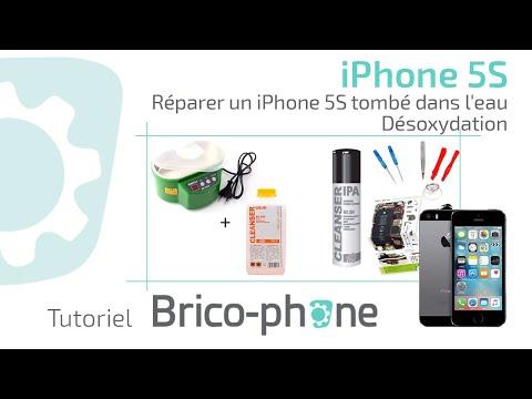 Tuto : Réparer un iPhone 5S tombé dans l'eau (désoxydation) HD