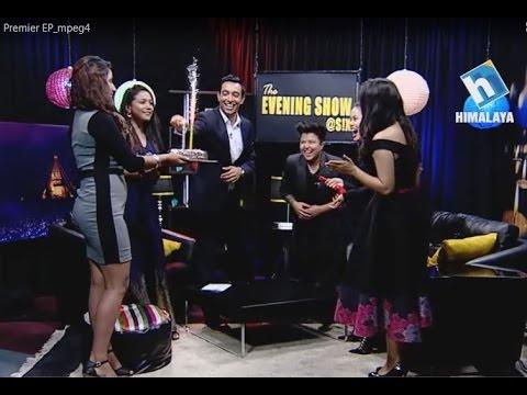 THE EVENING SHOW @S!X - Premier Episode  (Sanjay Gupta, Nattu, Shubani, Sanna, Presca and Nikita)