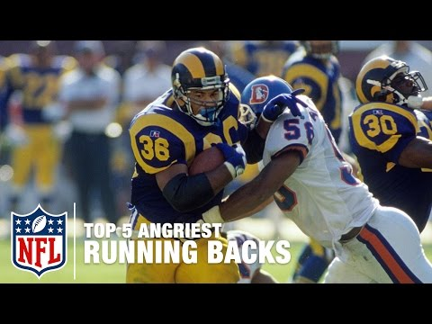 Top 5 Angriest Running Backs of All Time | Good Morning Football | NFL Network