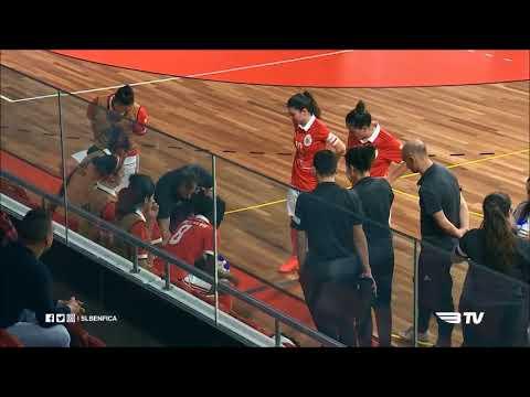 Futsal Feminino, 6ª jornada Ap. Campeão: SL Benfica 6-0 CR Golpilheira