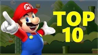 Top 10 MARIO GAMES!