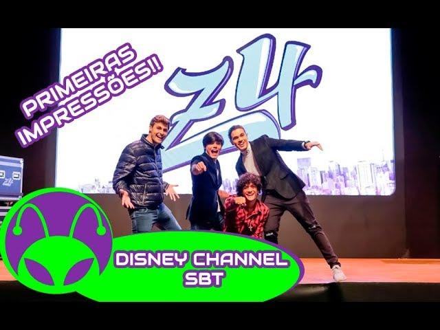 Z4 - Disney Channel e SBT | PRIMEIRAS IMPRESSÕES!!!!