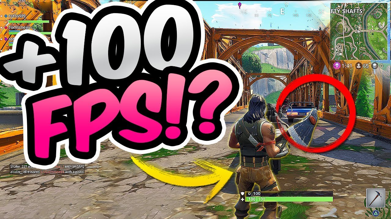 how to get best fps in fortnite nvidia