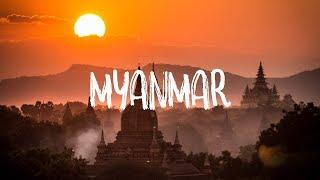 [ Natural 4k ]  Myanmar (Burma) - The land of reviva
