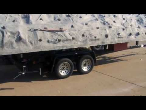 Extreme Engineering Mobile Rock Climbing Wall at GovLiquidation com