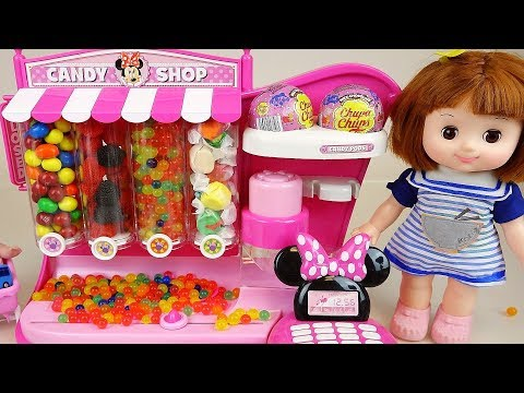 Baby doll candy dispensor and mart play baby Doli house