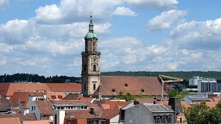 ... just 15 kilometres north of nuremberg in middle franconian you'll find the city erlangen. this city's story really
