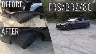 How To Install PBM Lower Control Arms & Toe Arms (FRS)