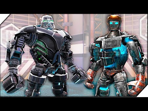 БЕСПЛАТНЫЙ ZEUS. Zeus vs Atom - Игра Real Steel World Robot Boxing  # 6 Игра Живая сталь