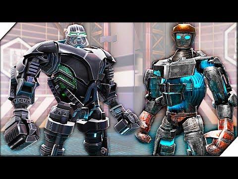 БЕСПЛАТНЫЙ ZEUS. Zeus Vs Atom - Игра Real Steel World Robot Boxing  # 6 Игра Живая сталь