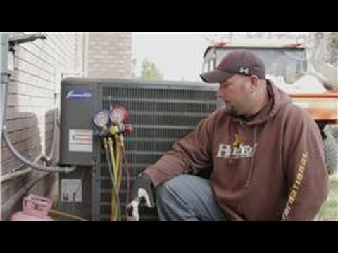 Central Air Conditioning Information How To Recharge Refrigerant And Often You