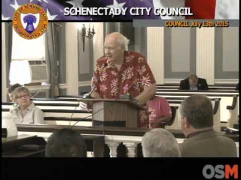 Schenectady City Council July 13th 2015