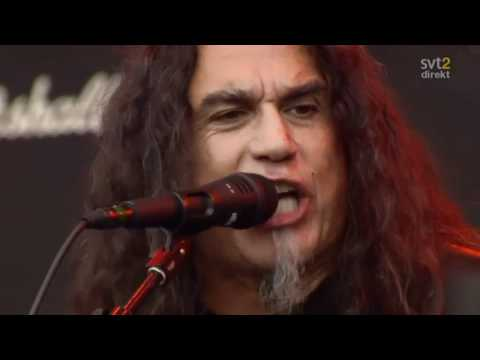 The Big 4 - Slayer - Postmortem Live Sweden July 3 2011 HD