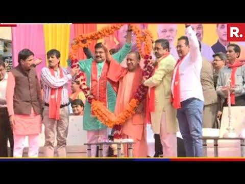 Yogi Adityanath's Explosive Attack On Congress - Full Speech