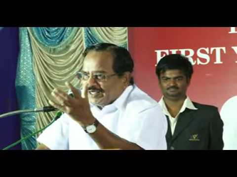 svs college of engineering tamil aruvi manian speech in first year inauguration 2013