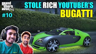I STOLE RICH YOUTUBER'S CAR | GTA V GAMEPLAY #10