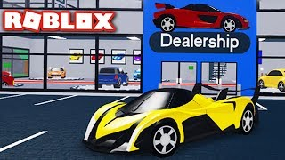 Building a $100,000,000 HYPER CAR Dealership!! (Roblox Vehicle Tycoon)