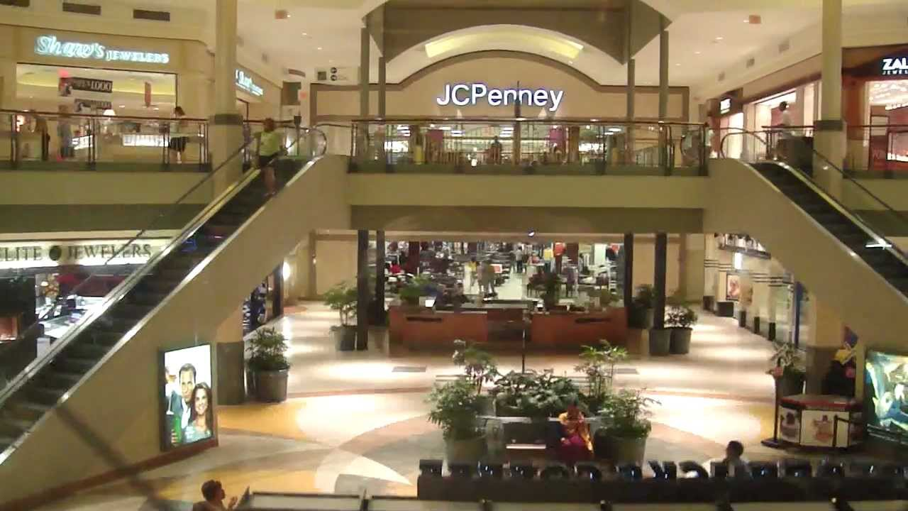 The Dulles Town Center (DTC) is a two-level enclosed shopping mall in Dulles, Loudoun County, Virginia, United States, located five miles north of the Washington Dulles International Airport. The retail center gives its name to the census-designated place (CDP) within which it is located.