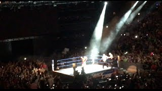 BOBBY ROODE DEBUTS - LIVE CROWD REACTION SMACKDOWN 8/22/17