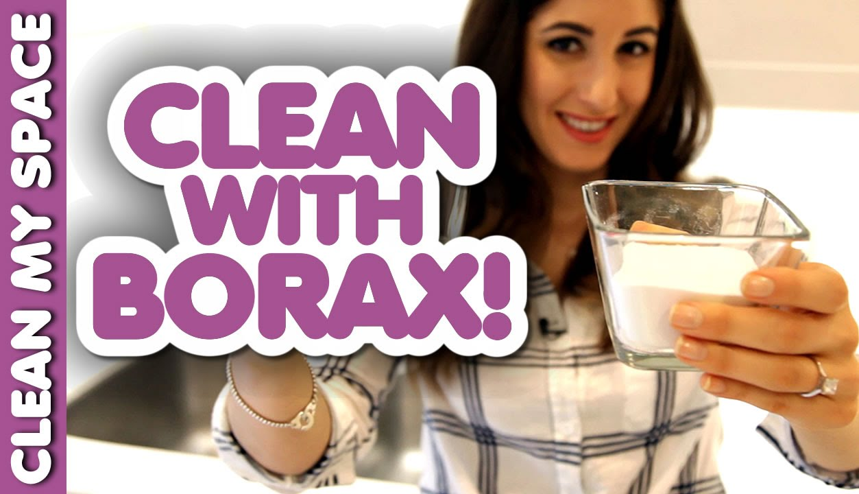Borax is Awesome for Cleaning! (Clean