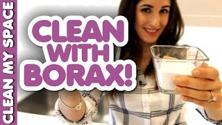 Borax is Awesome for Cleaning! (Clean My Space)