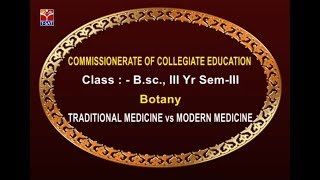 CCE || Botany - Traditional Medicine vs Modern Medicine  || Live With Shivani and  Shravani
