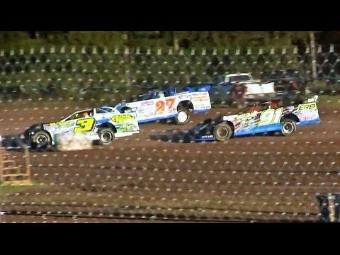 WoO Late Model Heat 1 at Merritt Speedway on 8-28-16