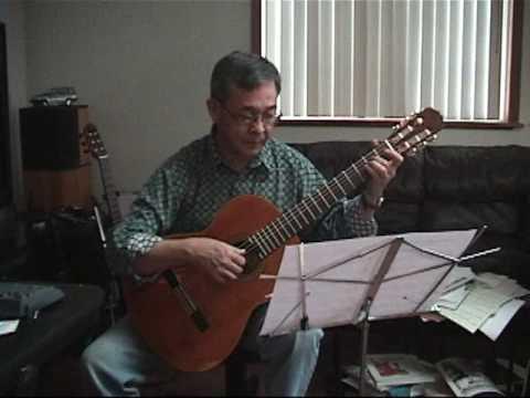 Toi Dua Em Sang Song solo guitar