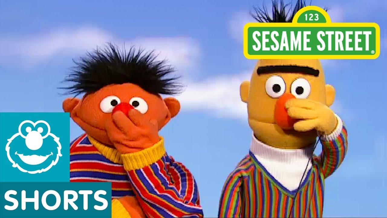 Sesame Street: Bert and Ernie Play Touch Your Face   Doovi Sesame Street Ernie Face