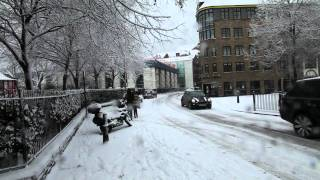 A Weekend of Wapping Snow in London E1W