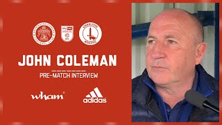 INTERVIEW: Coley on the final home game of the season