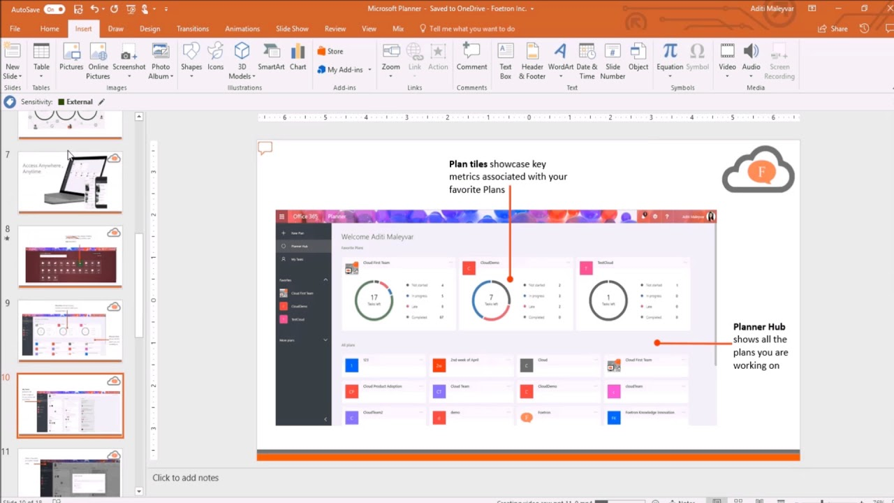 How To Use Basic Custom Slideshow In Microsoft Powerpoint