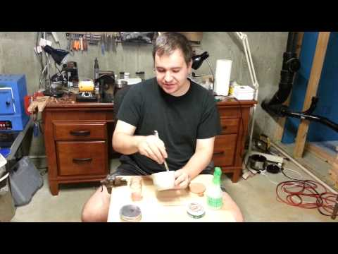 Homemade Bronze and/or Copper Metal Clay - Mixing