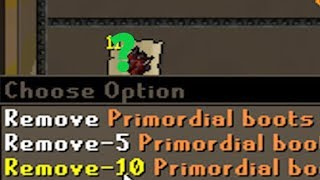 Almost MAXED! Primordial Boots Collection, Ely Pure Update & More! [Epic Adventure #71]